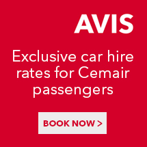 Hire from Avis through CemAir at best rates